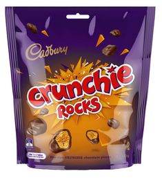 Cadbury: Crunchie Rocks - (10 x 135g) Cadbury Crunchie, Cadbury Milk Chocolate, Flake Chocolate, Cadbury Dairy Milk, Lolly Bags, Friday Feeling, Home Food, Electronic Gifts