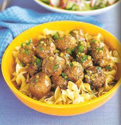 Rachel Ray's Swedish Meatballs: one of my favorite recipes EVER!