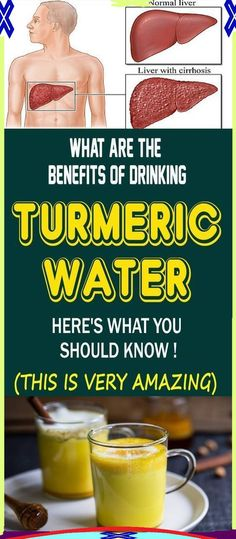 WHAT ARE THE BENEFITS OF DRINKING TURMERIC WATER!? HERE�S WHAT YOU SHOULD KNOW