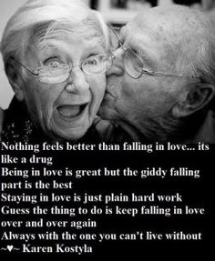 ~♥~ Nothing feels better than falling in love... It's like a drug ~ Being in love is great but the giddy falling part is the best :) Stayin...