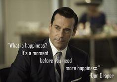 Don draper quotes | Don Draper – Mad Men – The Marketing Finale