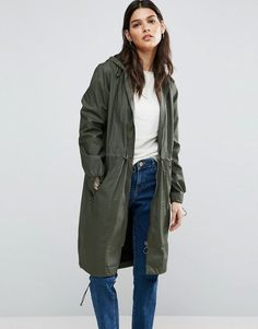 Get this Asos's raincoat now! Click for more details. Worldwide shipping. ASOS Wax Fisherman Rain Mac - Green: Parka by ASOS Collection, Waxed cotton, Zip fastening, Adjustable waist and hem, Functional pockets, Regular fit - true to size, Machine wash, 100% Cotton, Our model wears a UK 8/EU 36/US 4 and is 173cm/5'8 tall. Score a wardrobe win no matter the dress code with our ASOS Collection own-label collection. From polished prom to the after party, our London-based design team scour the…