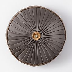"Waterford Walton Decorative Pillow, 14"" Round 
