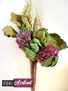 I love the idea of hops in a wedding bouquet. I may have to grow some for just such a purpose. :)