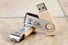Personalisierte hölzerne 8Gb Speicherstick Twister von USB2U