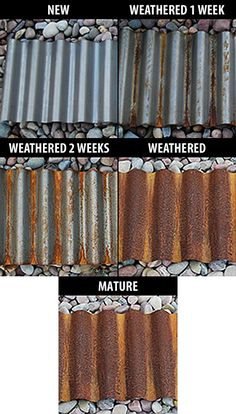 How To Rust Corrugated Metal Corrugated Metal And Rust