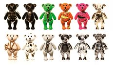 teddy bear necklaces from Disaya's Spring/ Summer jewelry collection.