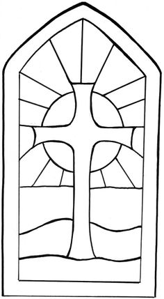 stained glass window templates - Google Search