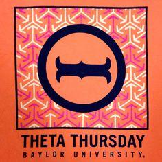 Theta Thursday at Baylor University #KAΘ