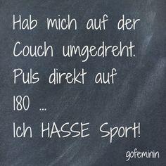 #sport #spruch #quote  Noch mehr Sprüche auf https://www.facebook.com/goFeminin