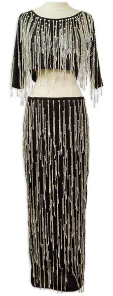 Belly Dance Costume, In Stock - Black & Silver Egyptian Top & Skirt Silver Tops, Black Silver, Dance Outfits, Cool Outfits, Dance Gear, Belly Dance Outfit, Kinds Of Dance, Tribal Dance, Night Circus