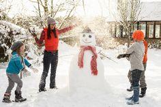 Зимние игры для детей на свежем воздухе | Погремушки