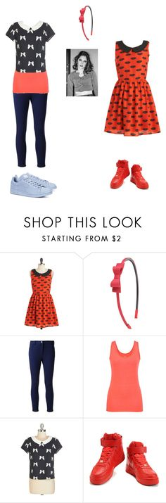 """""""francesca"""" by maria-look ❤ liked on Polyvore featuring Forever 21, Michael Kors, maurices, NIKE, adidas, women's clothing, women, female, woman and misses"""