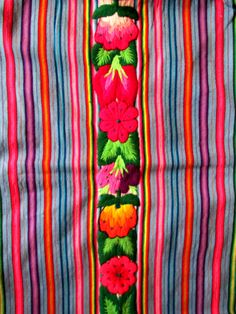colorfull fabric from Peru