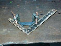 DIY 90º weld jig