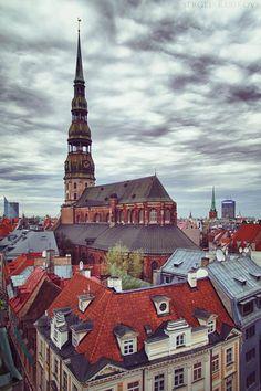 La belleza de Riga