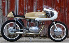 Ducati 250 racer by Union   Inazuma café racer