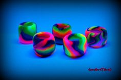 Free Shipping  Special Offer Lot of  FIVE Colorful uv by InnerMind