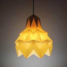 Luminária Pendente Hope – Marfim - Dobrarte Origami