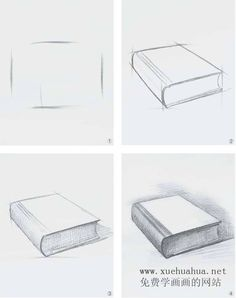 sketches step by step Basic Drawing, Book Drawing, Drawing Skills, Drawing Lessons, Drawing Tips, Art Lessons, Basic Sketching, Drawing Ideas, Pencil Art Drawings