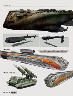 The Art of Fallout 4 - /// Vault 13 Fallout Art, Fallout 4 Concept Art, Fallout New Vegas, Game Concept Art, Retro Futuristic, Futuristic Design, Carros Vw, Starship Concept, Gundam Wallpapers