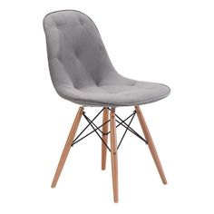 Zuo Modern Probability Dining Chair Gray - 104155