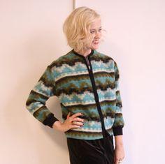 1960s vintage // Southwest Wool Jacket // ML by dethrosevintage, $75.00