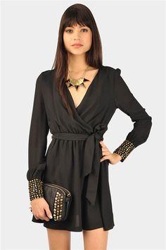 Speckle Cap Sleeve Dress - cute styling