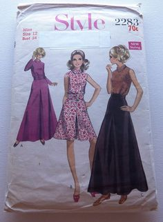 Culottes and Blouse Sewing Pattern Size 12 by AnnaMareeCreatively