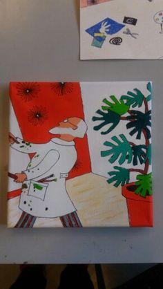 Matisse op canvas