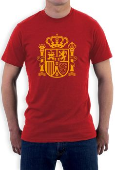 SPAIN espana sport game football xmas birthday gift ideas boys girls TSHIRT TOP