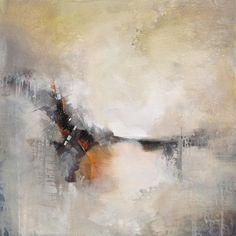 """Abstract art """"Meandering Course"""" Karen Hale"""