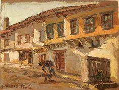 Ettore Ponzi - Rrugicë në Korçë