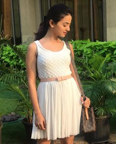 Image may contain: 1 person, standing Stylish Dresses For Girls, Stylish Girl, Girls Dresses, Summer Dresses, Indian Tv Actress, Beautiful Indian Actress, Dramas, Wendy's Lookbook, Helly Shah