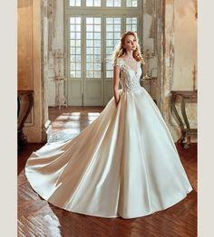 Vestidos de noiva com corte princesa 2017: modelos únicos para noivas…