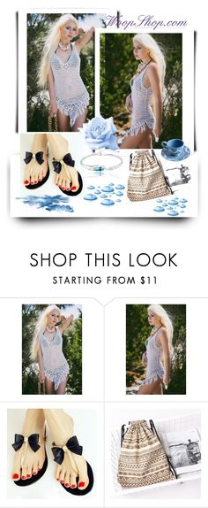"""Step Up/WoopShop.com 7"" by rose-99 ❤ liked on Polyvore featuring vintage"