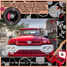 Standin on the Corner by Dog Artist. Kit: Retro Baby! Retro! by CL Graphics http://scrapbird.com/designers-c-73/a-c-c-73_514/country-livs-graphics-c-73_514_351/clgraphics-retro-baby-retro-page-kit-p-17750.html