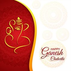Festival Of Ganesh Chaturthi Card Celebration Background Vector Vector and PNG Poster Background Design, Cartoon Background, Geometric Background, Background Templates, Ganesh Chaturthi Greetings, Happy Ganesh Chaturthi Wishes, Free Vector Graphics, Vector Vector, Vector File