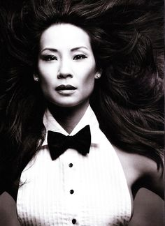 Lucy Liu - L'Uomo Vogue by Mark Seliger, February 2010