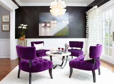 Green And Purple Design Ideas, Pictures, Remodel, and Decor - page 29