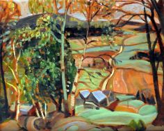 Anne SAVAGE - Lake Vonish, Laurentians (c. 1940) Beaver Hall, Eugene Ionesco, Group Of Seven, Canada, Sculpture, Canadian Artists, Abstract Landscape, Artist Art, Savage