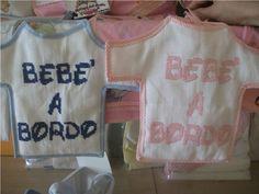 Magliette Bebè a bordo