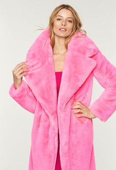 Faux Fur Riley Coat