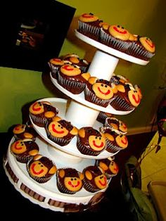Monkey Cupcakes from Kye's first birthday party