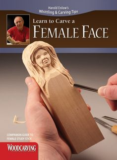 Learn to Carve a Female Face (Booklet)