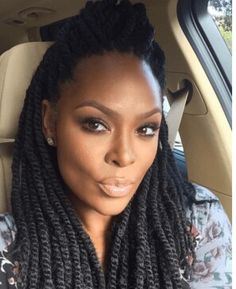 Braided Hairstyles For Black Women, Braids For Black Hair, Chic Hairstyles,  African Hairstyles