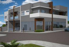 Projeto comercial e residencial desenvolvido pela empresa Sólida Engenharia com sede em Imbituva - PR
