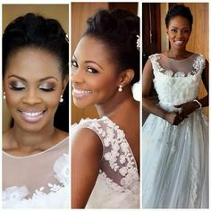Black Bride African American Wedding Makeup