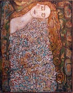 Peinture onirique Anne-Marie Zilberman Le Chant de le Terre