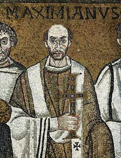 Ravenna, Basilica di San Vitale, ritratto di Massimiano